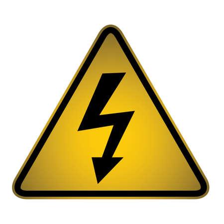 Hazard sign Stock Vector - 27158277