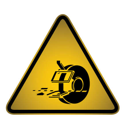 Hazard sign Stock Vector - 27158295