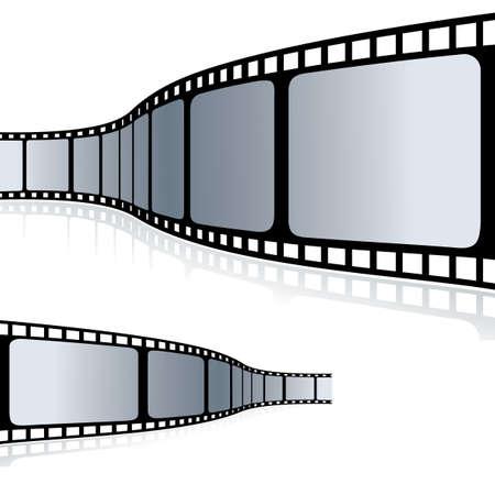 Movie Film clip art