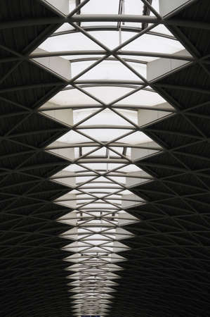 skylight: Architectural Skylight in roof of airport