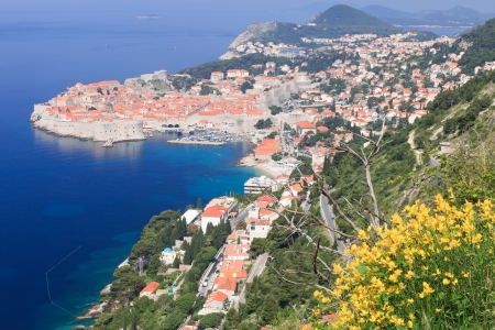Dubrovnik fortification and town in Croatia