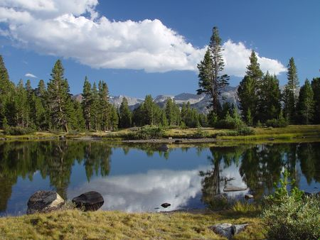 high sierra: High Sierra Pond II