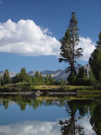 high sierra: High Sierra Pond I Stock Photo
