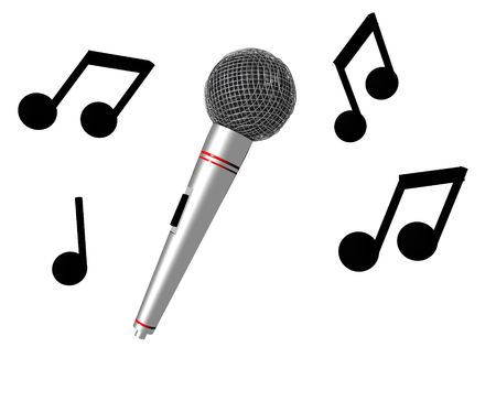 Karaoke Time Stock Photo