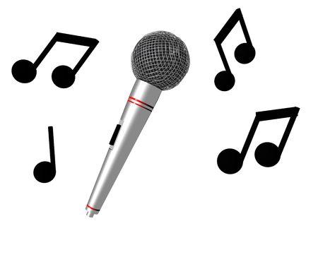 Karaoke Time Banco de Imagens