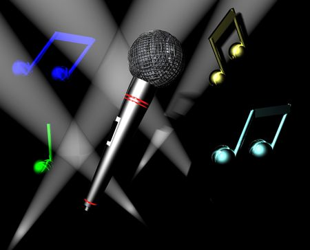 Karaoke Time II Stock Photo