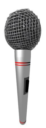 Isolated Microphone photo