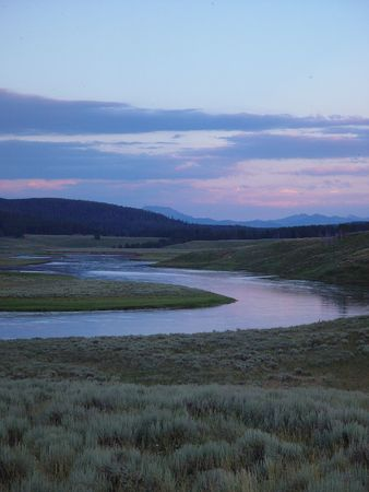 hayden: Yellowstone River Stock Photo