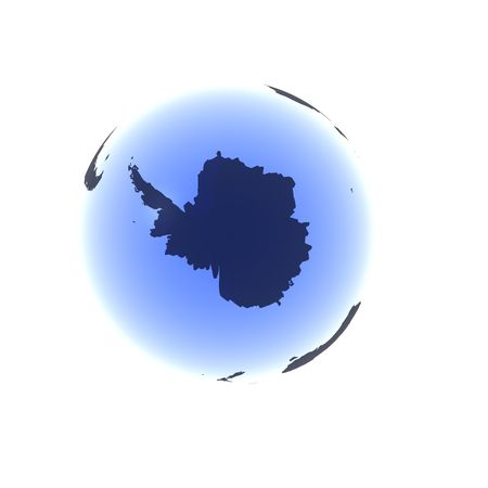 Soft Blue Antarctica