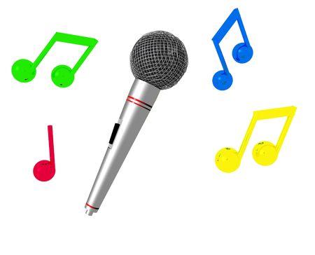 Karaoke Time II Stock Photo - 2441267