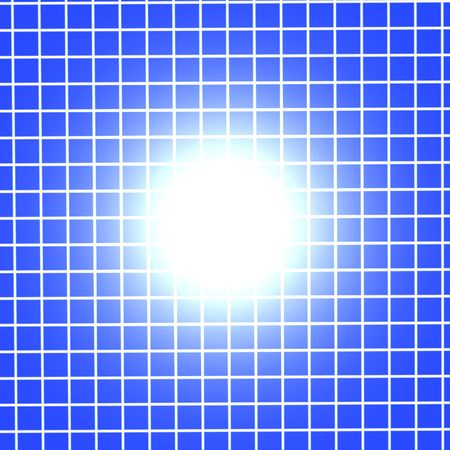 grid: Blue Grid Background