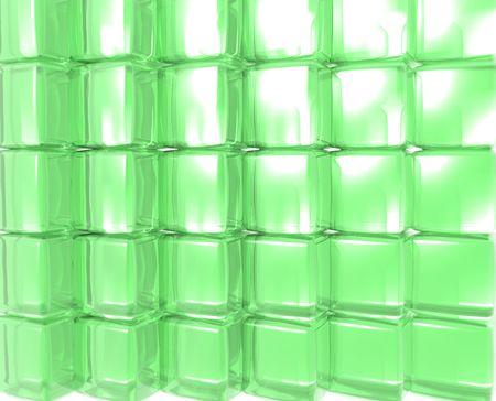 Green Gel Cubes 版權商用圖片
