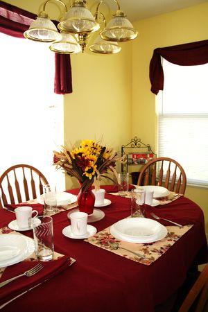 Kitchen Table Banco de Imagens