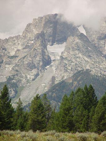 sagebrush: High Mountains Stock Photo