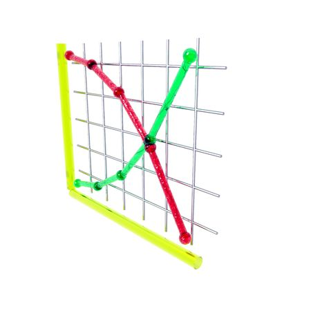demand: An illustration of supply and demand curves. Stock Photo