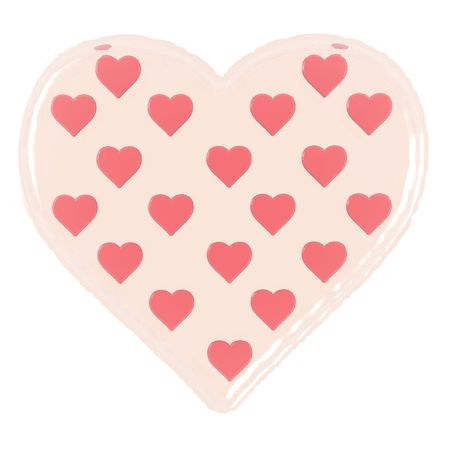 yearning: An illustration of a St. Valentines heart.