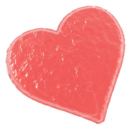 An illustration of a St. Valentines heart.