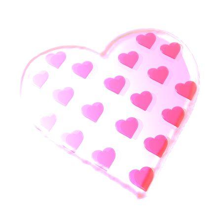 세인트 발렌타인 하트의 삽화.