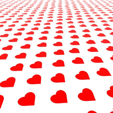 세인트 발렌타인 하트의 배경입니다. 스톡 콘텐츠