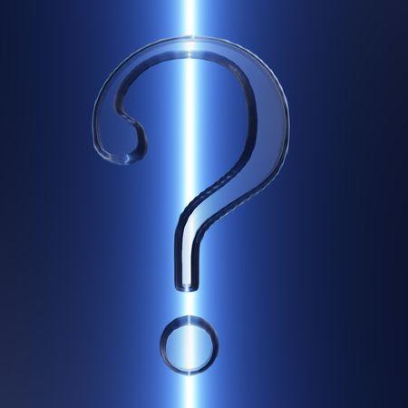 Een voorbeeld van een vraag met een ijzige uitstraling.