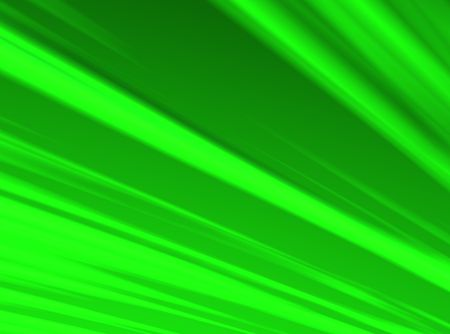 An Illustration of a green, radiant sky. Banco de Imagens