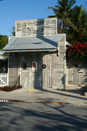 A rustic building in the heart of Key West. Stock Photo - 3086967