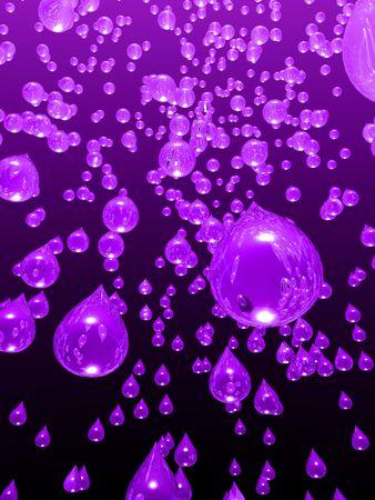 Drops of grape juice falling from the sky. Zdjęcie Seryjne