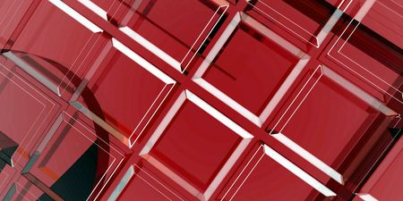An abstract illustration concentrating on dark red. Stok Fotoğraf
