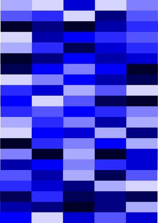 Blue block background illustration in a portrait orientation.
