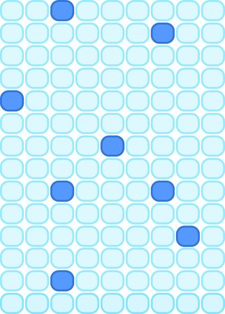 Illustration of blue tiles with random darker blue tiles. Фото со стока - 5643067