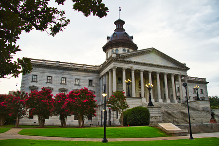 The capitol building of the state of South Carolina.