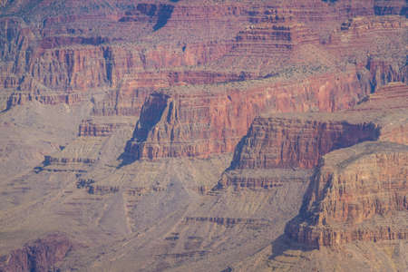 Image of the inside of the Grand Canyon in Arizona during daytime.