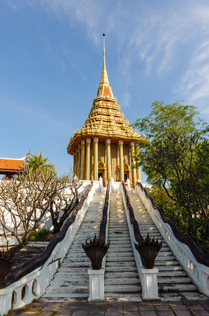 dvaravati: The Mondop housing the Footprint of the Lord Buddha in Saraburi is considered one of the most sacred places of Thailand.