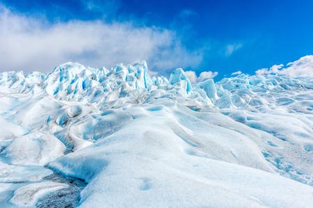 The Perito Moreno Glacier in the Los Glaciares National Park, Patagonia, Argentina.