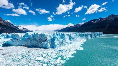 glaciares: The Perito Moreno Glacier in the Los Glaciares National Park, Patagonia, Argentina.