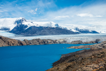 the famous upsala glacier in Patagonia, Argentina.