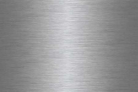 Geborsteld roestvrij staal patroon