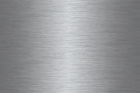 Muster aus gebürstetem Edelstahl