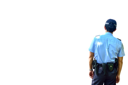 Security guard Stok Fotoğraf