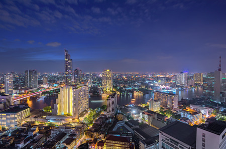 Beautiful night in Bangkok Thailand