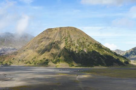 Mt.Batok in Bromo Tengger Semeru National Park, East Java, Indonesia. Stok Fotoğraf