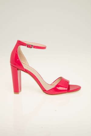 Bright Pink High Heel Court sandal