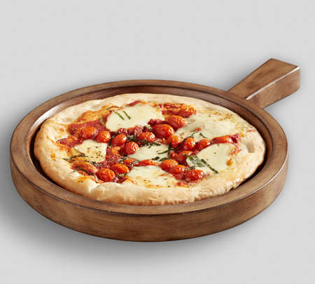 Tasty Pizza and Farmhouse Wood Pizza Paddle