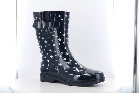 Rockstud Tall Motorcycle Boot, Boots - Western chief kids frog rain boot toddler little kid, Safety Boots and Trainers, Wellington Boots Stock Photo