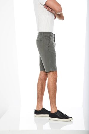 Mens Jogger Shorts with Zipper with white background, Mens Jogger Shorts with Zipper with white background