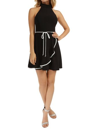 The Nightmare Before Christmas Flocked Dress in 2019 , Hot Topic Pretty Dress! Women Black Swiss Dot, Clothing | Hot Topic I wish this was a little bit longer , Black Lace Collar Dress Stock Photo