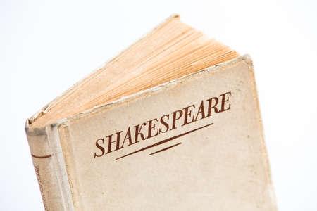Old Shakespeare book Stock Photo