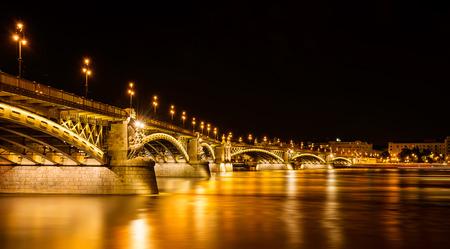 Budapest at night Stock Photo