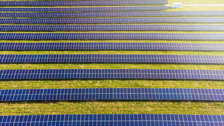 Solar cells industrial and civil electrical installations
