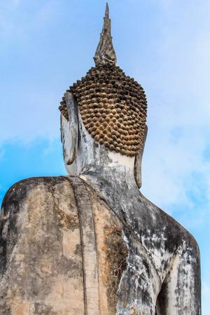 Behind Lord Buddha photo